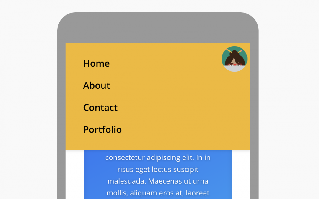 Logo as Fixed Divi Mobile Menu Button (Default Header + Centered Inline Formats)