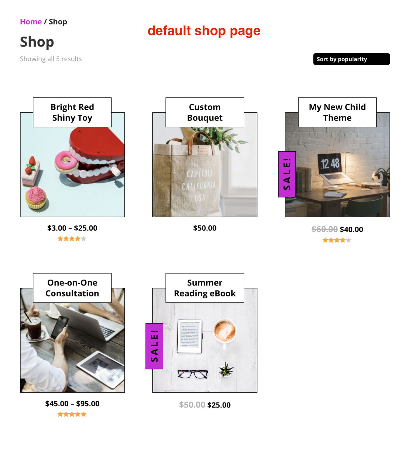 Customize the WooCommerce Shop Grid (Look 2)