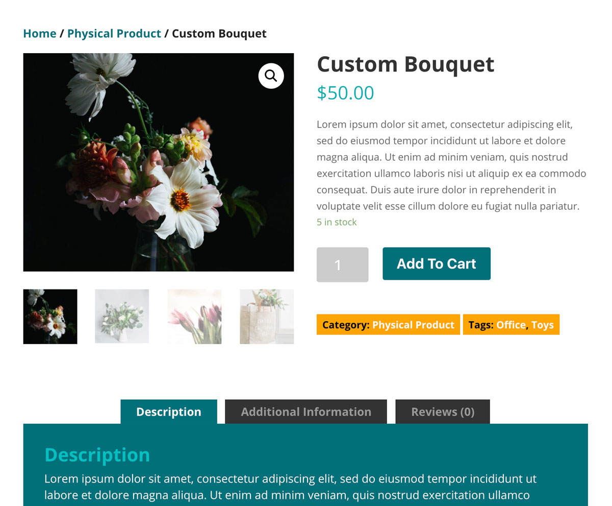 Make WooCommerce Product Images Fullwidth